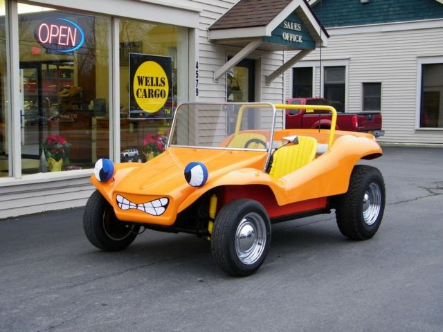 1957 57 Volkswagen Beetle Chassis Speed Buggy Manx-Style Kit Dune