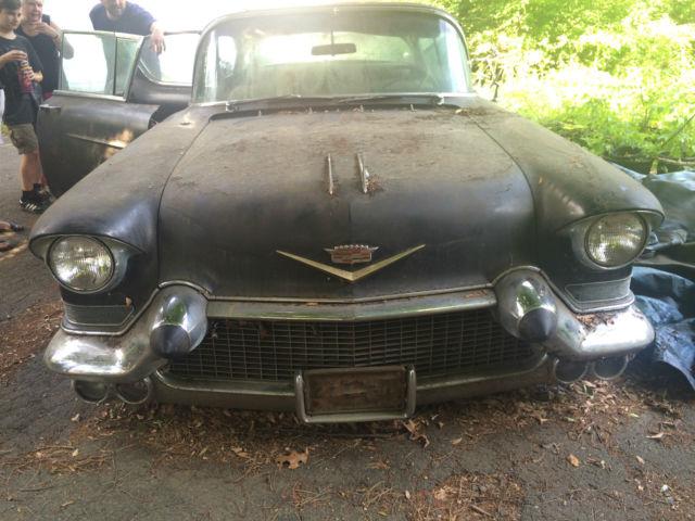 1957 Cadillac Fleetwood - Black 4 Door, Not Running ...