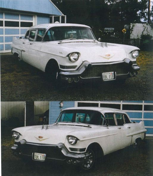 1957 Cadillac Fleetwood Limousine For Sale.