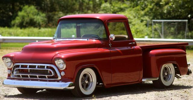 1957 Chevrolet 3100 Big Block Big Window Hot Rod Pickup Show Truck