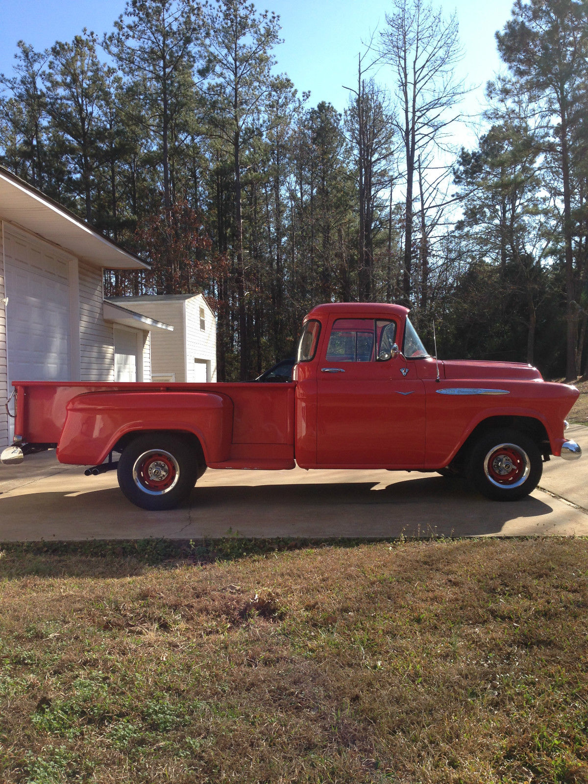 1957 chevrolet 3200 pickup truck with big window and 8 for 1957 chevy big window truck for sale