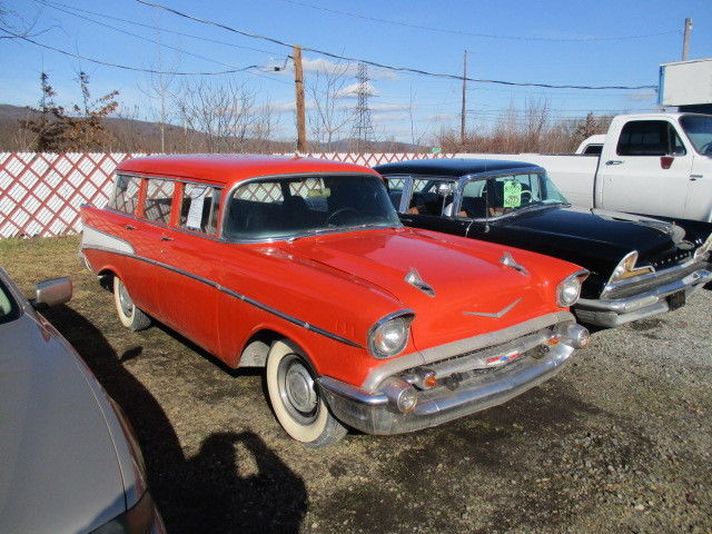 1957 chevrolet 4 door wagon bel air 15 210 classic for 1957 chevy 4 door wagon for sale