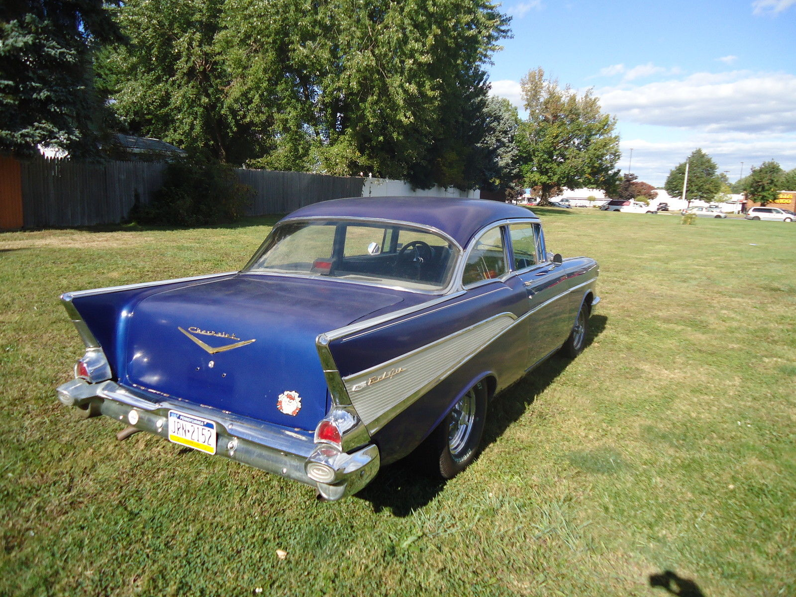 1957 Chevrolet Bel Air 2 Door Post Coupe Chevy Driver Rat Hot Rod Sedan Prevnext