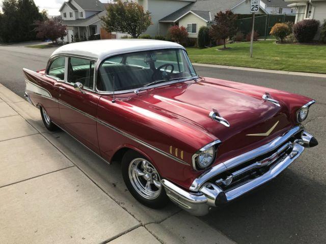1957 chevrolet bel air 2 door sedan better than new wow for 1957 chevy 2 door sedan