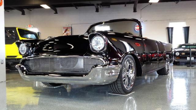 1957 Chevrolet Bel Air Convertible Custom Build 585hp High Dollar