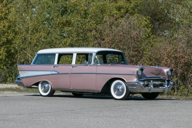 1957 Chevrolet Bel Air Wagon Air Conditioning Classic
