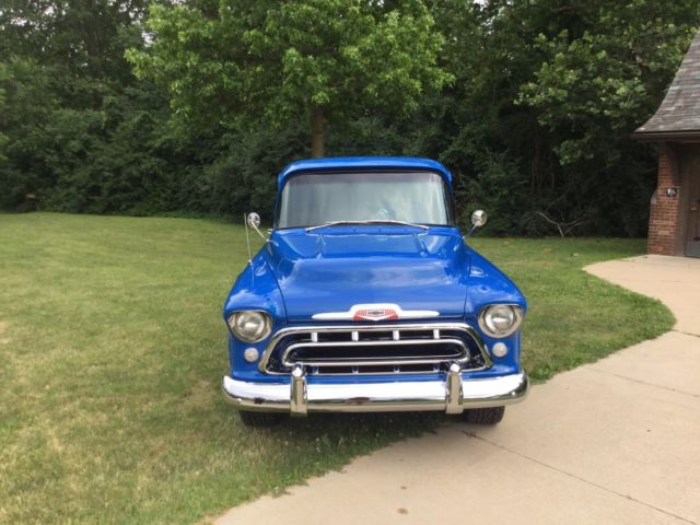 1957 Chevrolet Chevy 3100 Stepside Short Bed Pickup