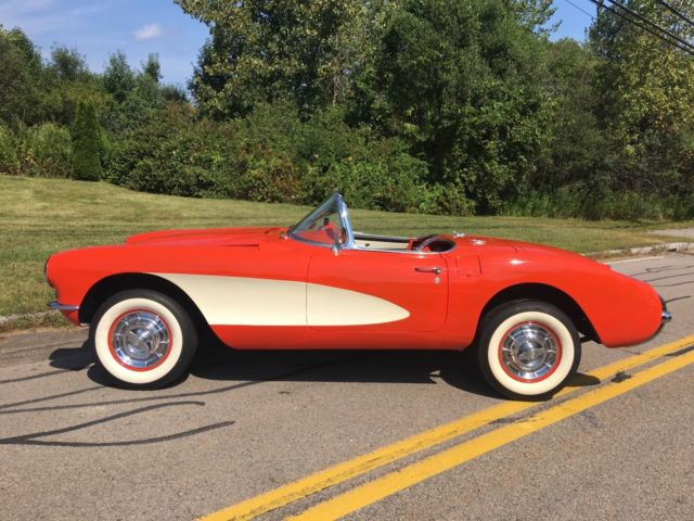 Youngstown Chevrolet >> 1957 CHEVROLET CORVETTE SAME OWNER FOR OVER 50 YEARS & OFF ...