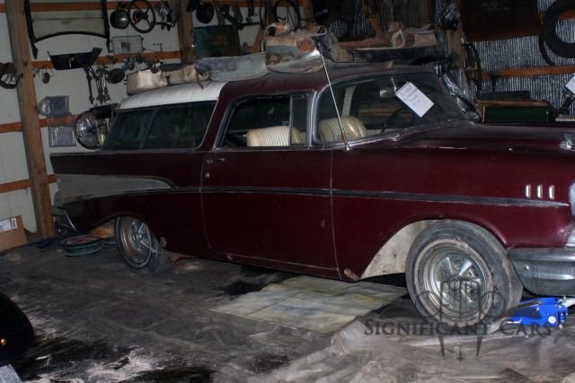 1957 Chevrolet Nomad For Restoration New Parts