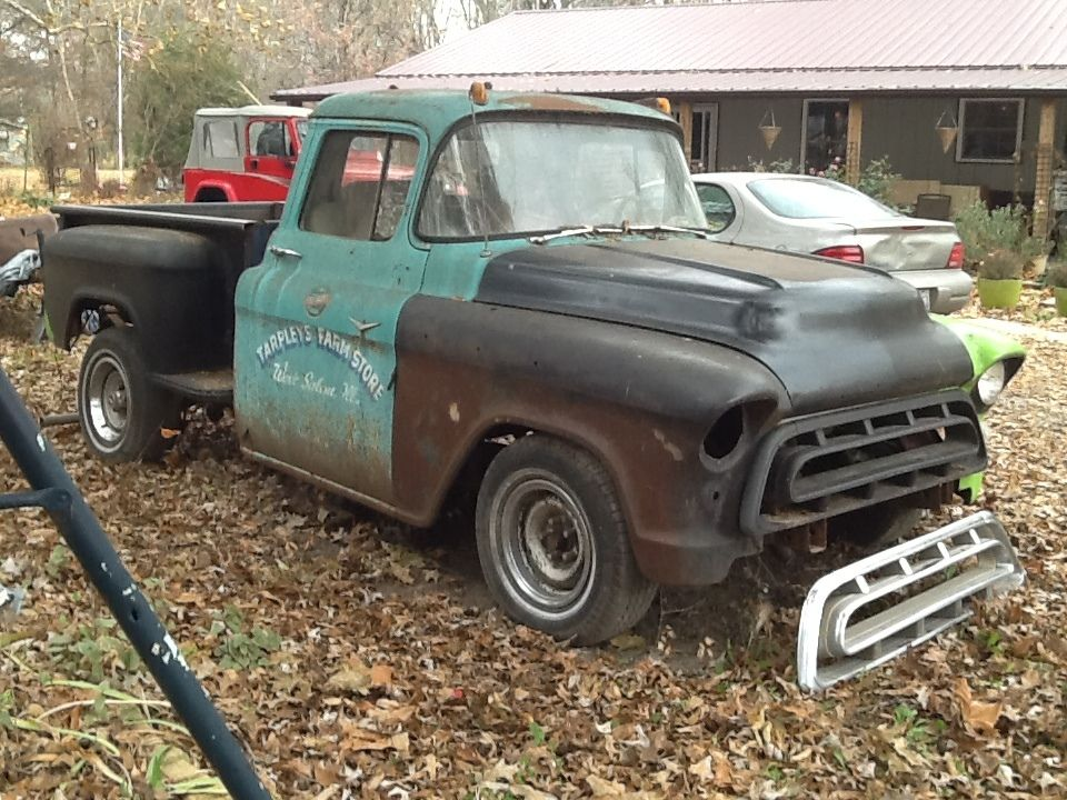 1957 chevrolet truck 3100 standard cab pickup 2 door 4 6l classic chevrolet other pickups 1957. Black Bedroom Furniture Sets. Home Design Ideas