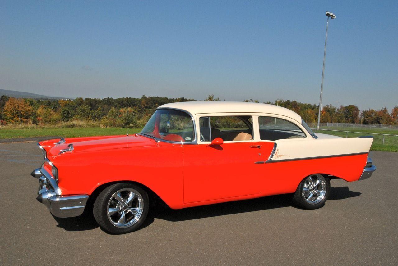 1957 chevy 150 2 door post hardtop frame on restoration for 1957 chevy bel air 4 door hardtop for sale