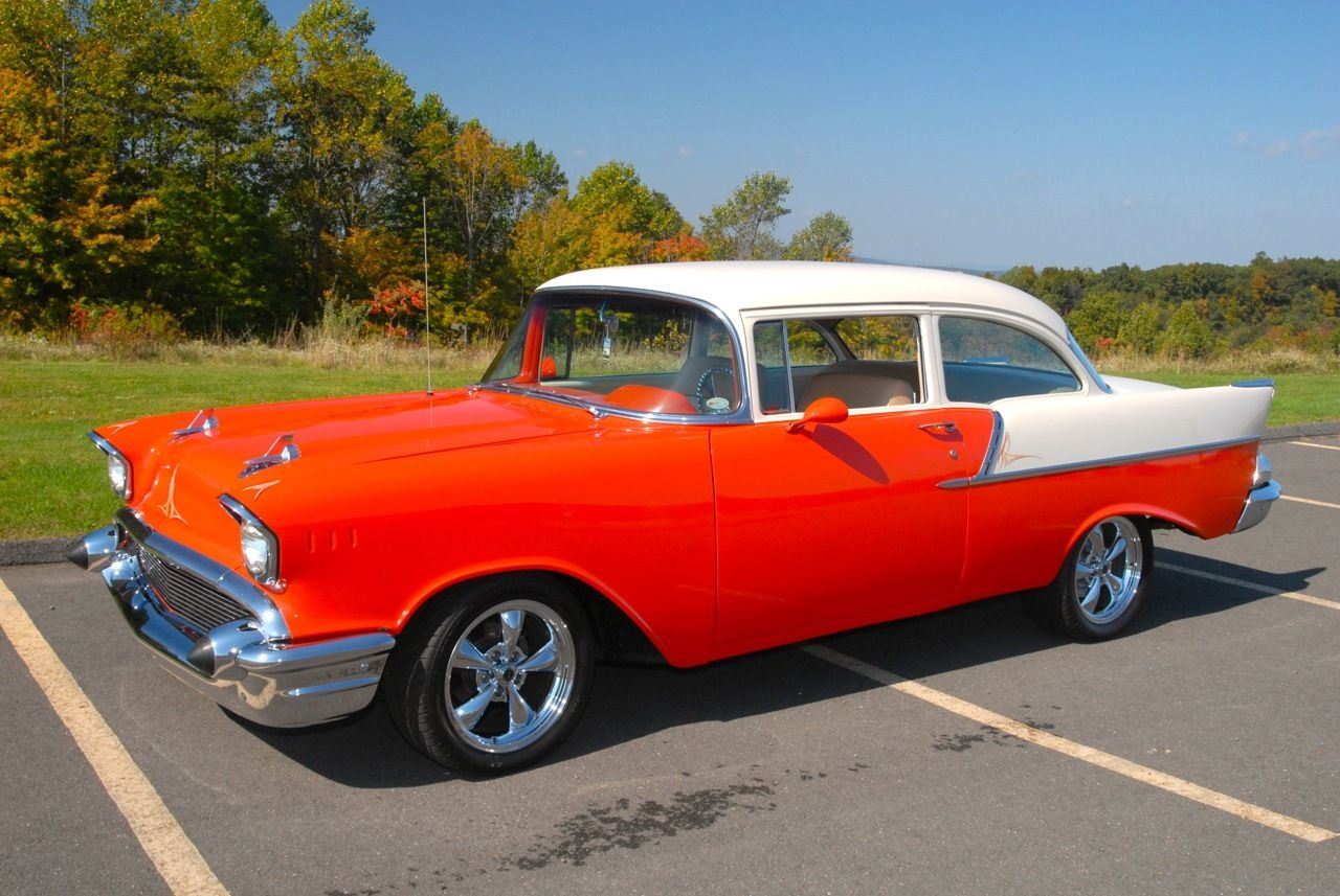 on restoration that was done corvette gasser 1957 chevy 150 wagon 1957