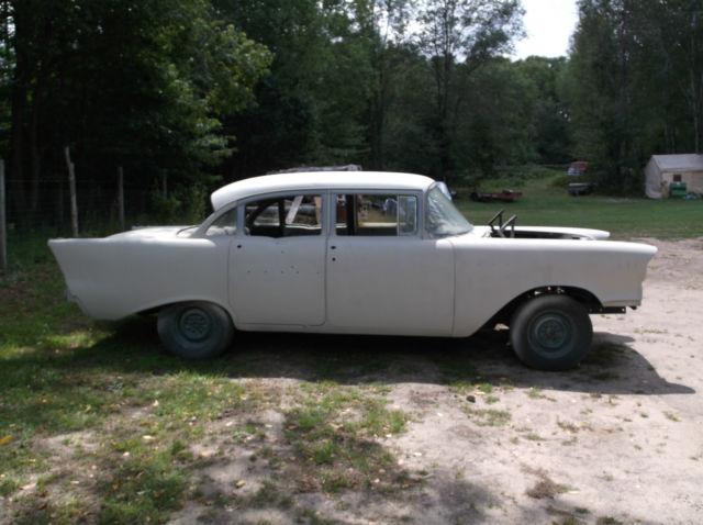 1957 chevy 150 4 door ledsled project hot rod rat rod for 1957 chevy 210 4 door