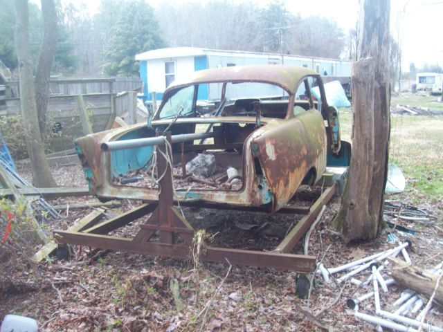 1957 Chevy 2 Door Sedan Body Shell Parts Classic