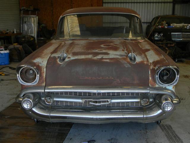 1957 Chevy 210 2dr Post Project Car 2 Door Classic