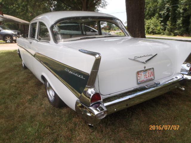 1957 Chevy 210 Belair 2 Door Post Sedan Restored Automatic 327