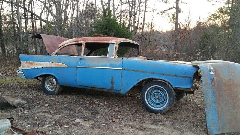 1957 chevy 210 parts car 2 door classic chevrolet bel for 1957 chevy 210 2 door