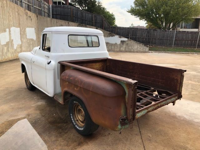1957 Chevy 3100 NO RESERVE Shop Truck PROJECT Rat Rod Camaro