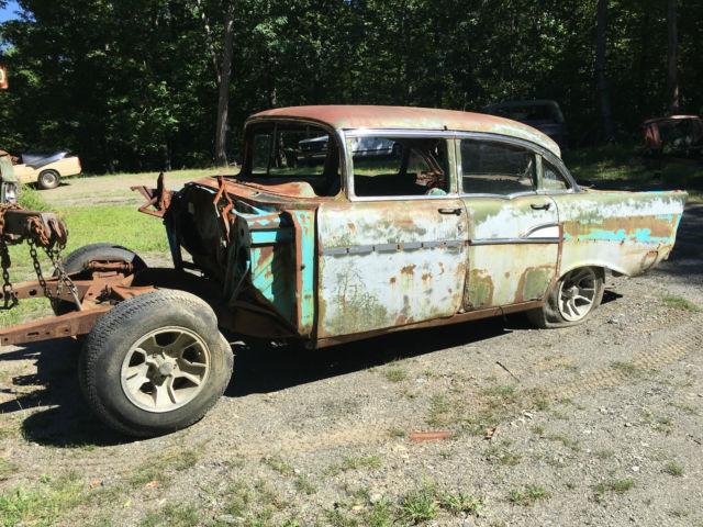 1957 chevy 4 door rat hot rod classic collector car custom for 1957 chevy 4 door car for sale