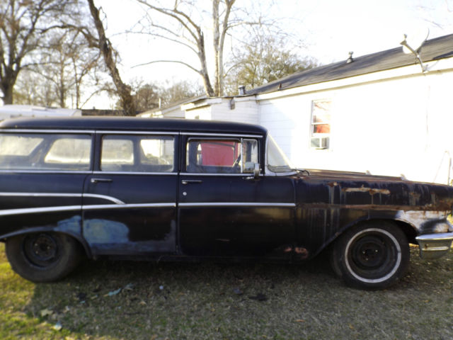 1957 chevy 4 door wagon needs complete restoration 3 for 1957 chevy wagon 4 door