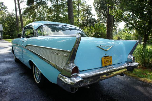 1957 Chevy Bel Air 2 Door Hardtop Hot Rat Rod Custom