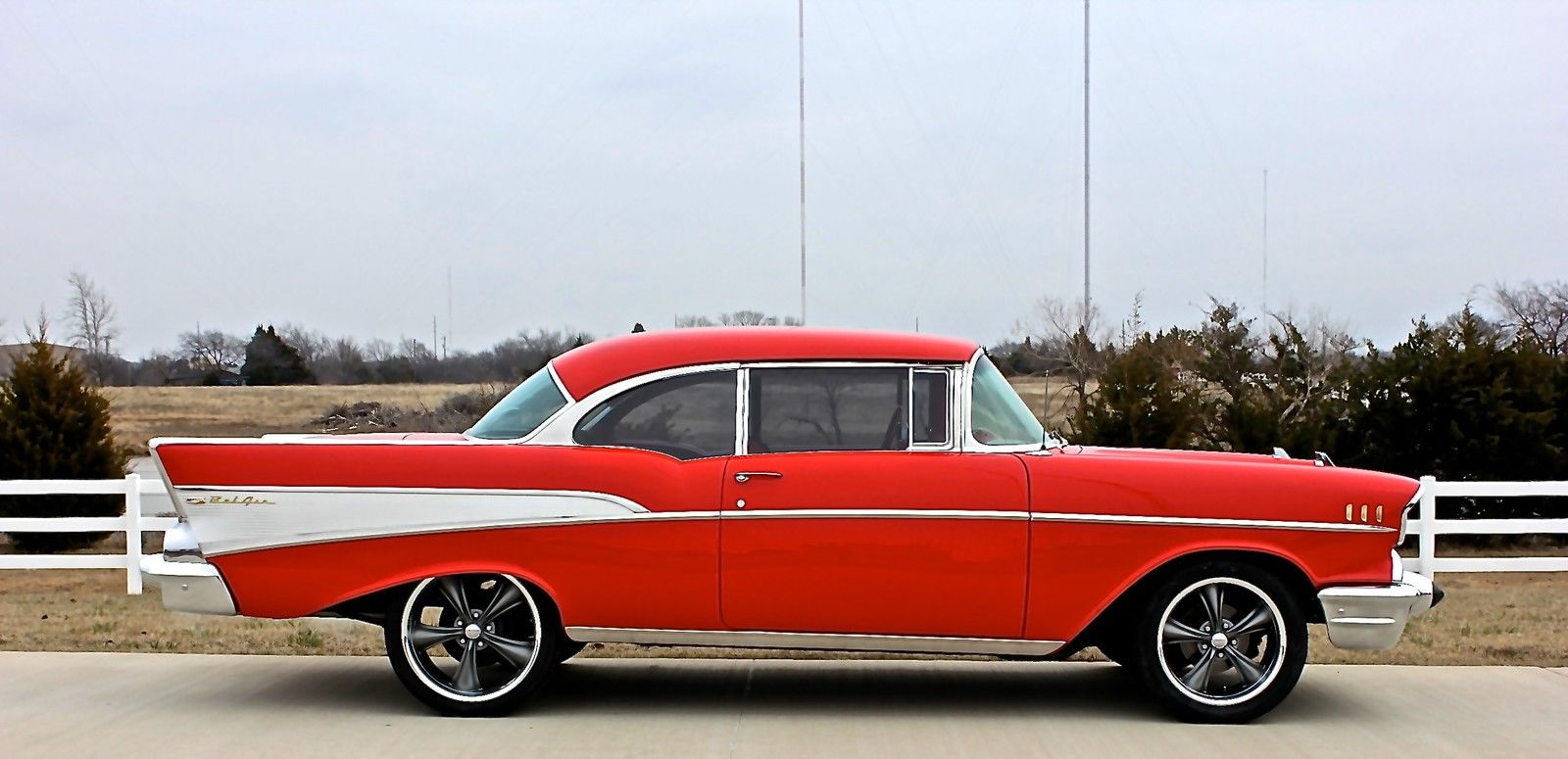 1957 chevy bel air 2 door hardtop v 8 automatic a c for 1957 chevy belair 2 door