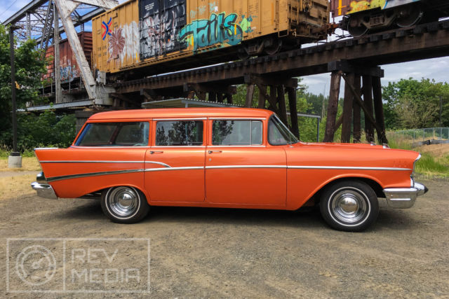 1957 chevy bel air 4 door wagon classic chevrolet bel for 1957 chevy 4 door wagon for sale