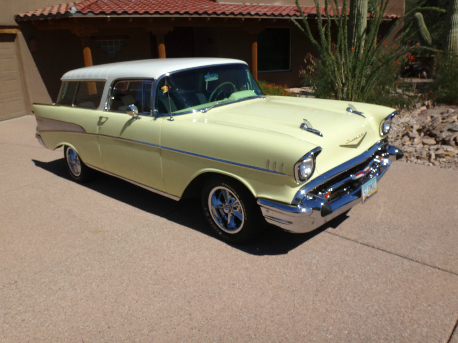 1957 Chevy Bel Air Nomad Restored Classic Chevrolet Wagon Prevnext