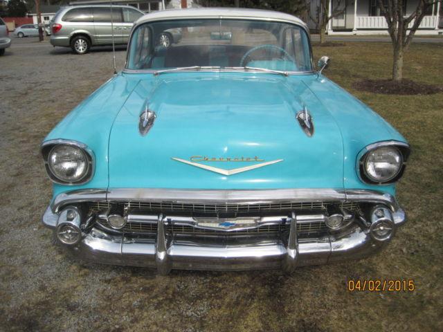 1957 chevy bel air sport sedan 4 door hardtop classic for 1957 chevy bel air 4 door hardtop for sale