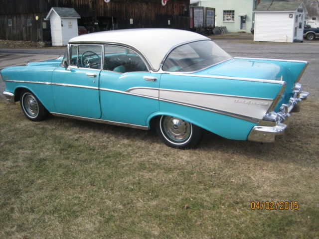 1957 chevy bel air sport sedan 4 door hardtop classic for 1957 chevy 4 door sedan