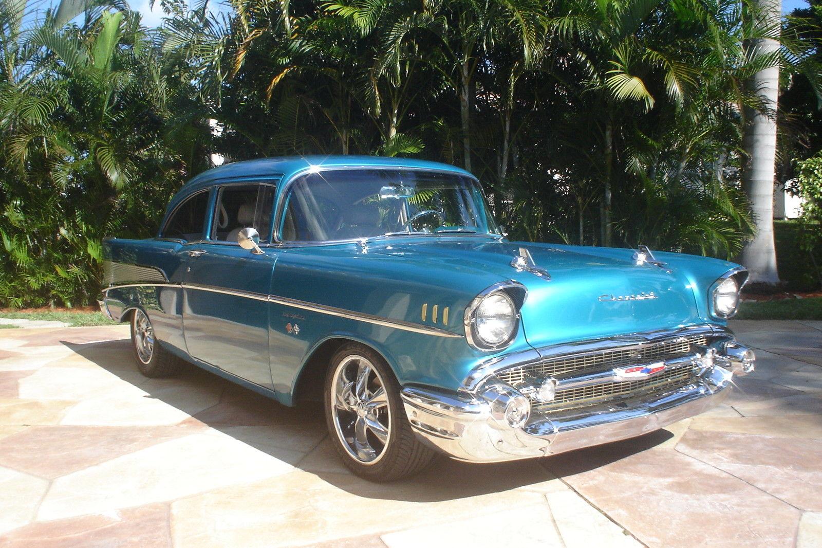 1957 Chevy Belair 150 210 Custom Classic Chevrolet Bel