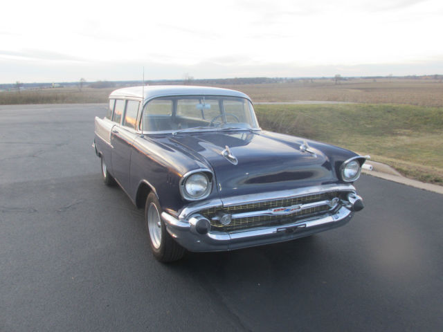 1957 chevy belair 2 door wagon big block see video solid for 1957 chevy two door wagon