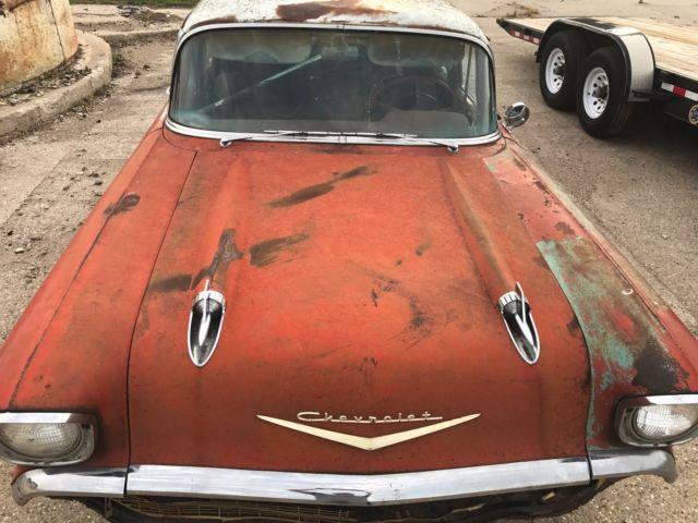 1957 chevy belair 4 door 283 power pack classic for 1957 chevy 4 door car for sale