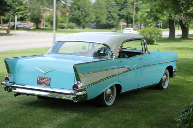 1957 chevy belair 4 door hard top classic chevrolet bel for 1957 chevrolet 4 door