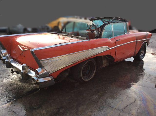Chevy Belair Convertible Door Original Rat Rod Custom Hot Rod