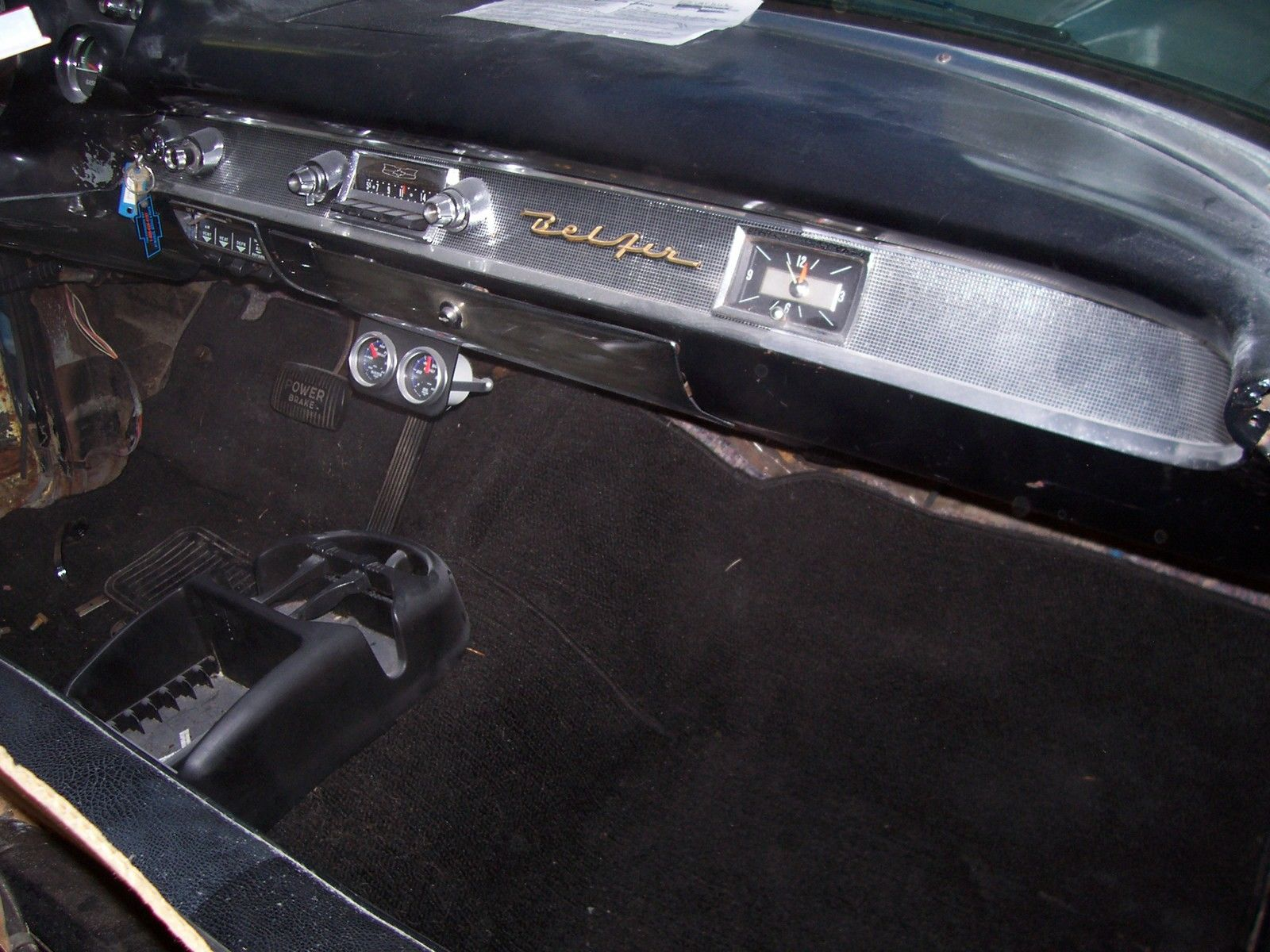 1957 Chevy Belair Nomad Wagon Project V 8 Auto Runs And Drives Bel Air Prevnext