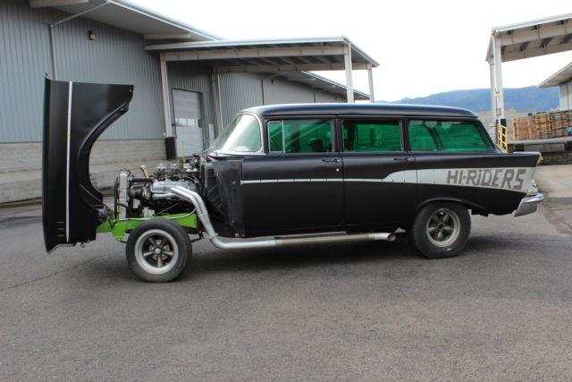 1957 Chevy Gasser 210 Straight Axle Chevrolet Hot Rod Rat