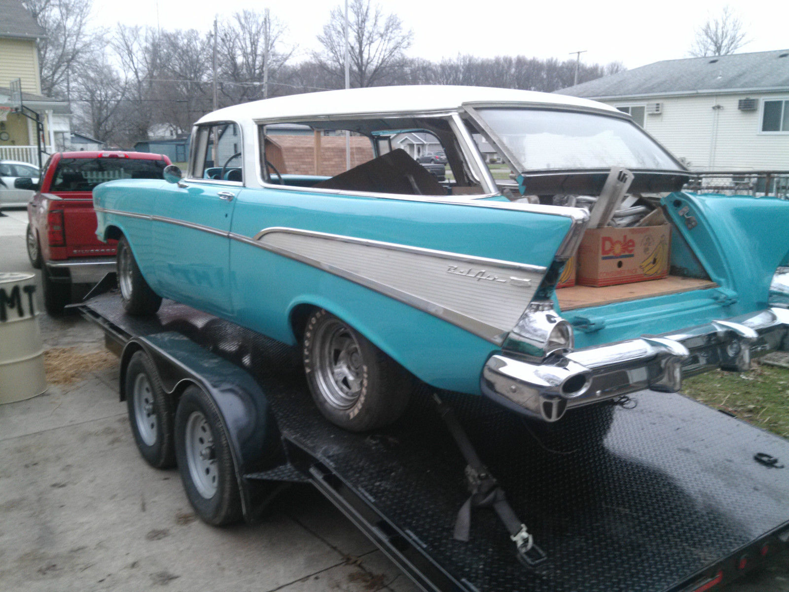1957 Chevy Nomad project Car - Classic Chevrolet Nomad ...