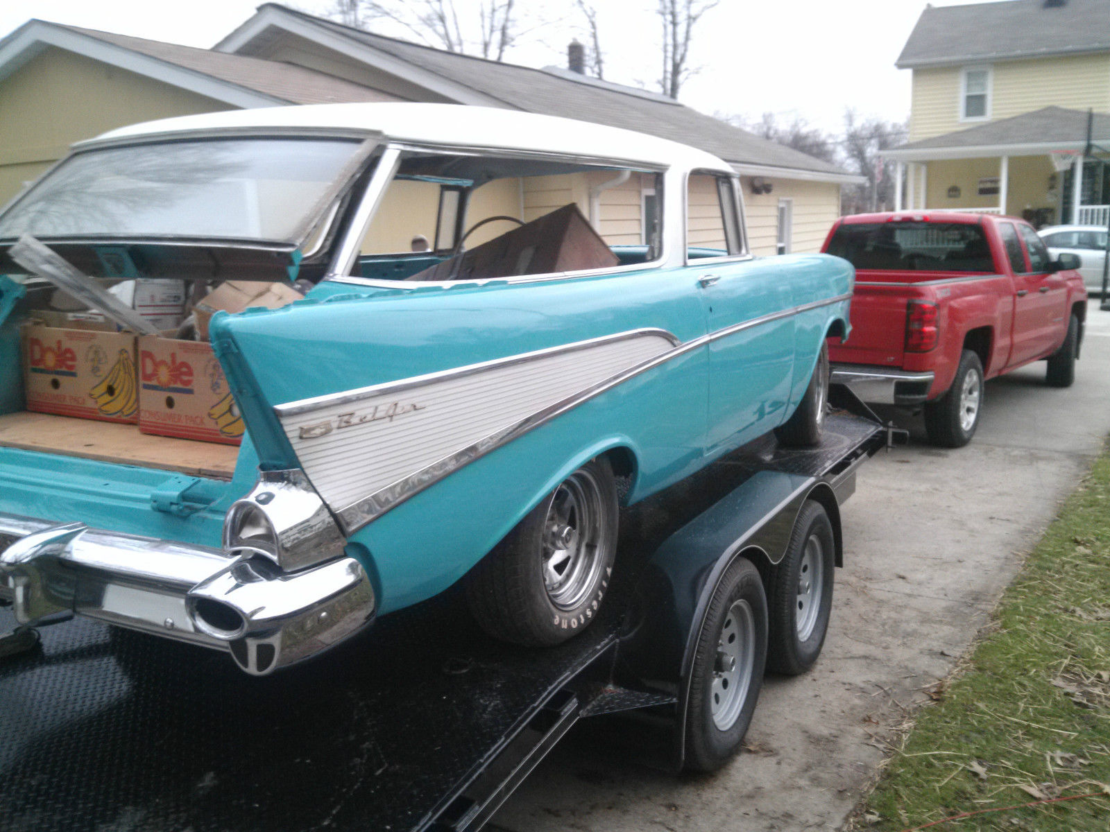 1957 chevy nomad project car for sale autos post. Black Bedroom Furniture Sets. Home Design Ideas