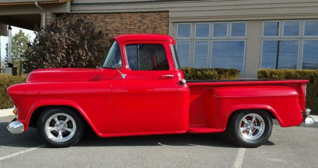 1957 chevy pickup big rear window 454 1955 chevy 1956