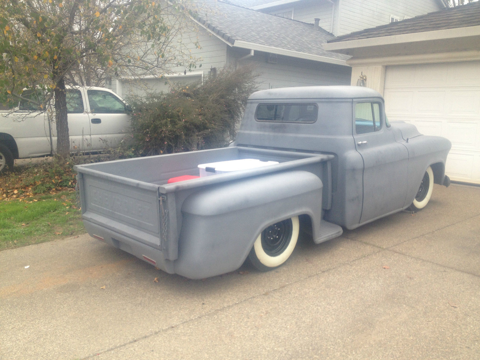 1957 Chevy Pickup Hot Rod Rat Rod Chopped Classic
