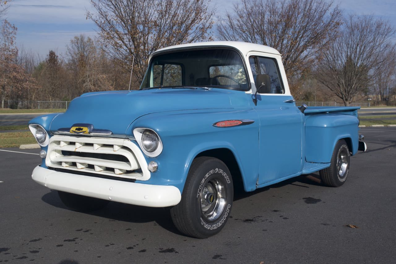 1957 chevy pickup truck 3200 6 cyl 235 classic chevrolet other pickups 1957 for sale. Black Bedroom Furniture Sets. Home Design Ideas