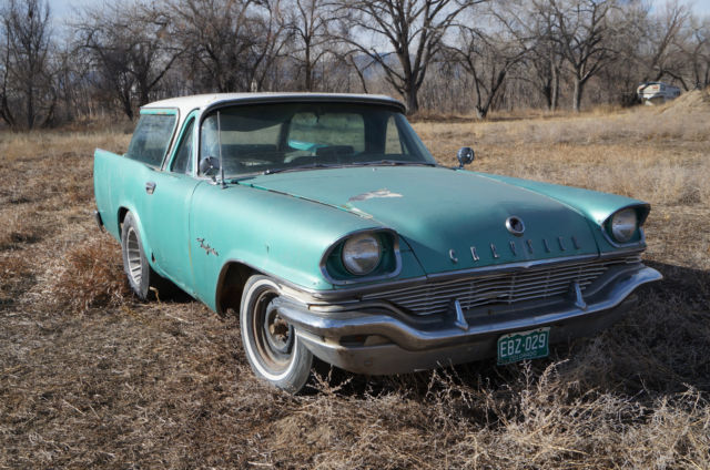 1957 Chrysler Wagon Gasser Rat Hot Rod Drag Project Race