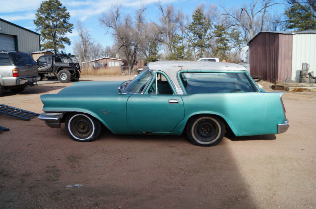 1957 Chrysler Wagon Gasser Rat Hot Rod Drag Project Race