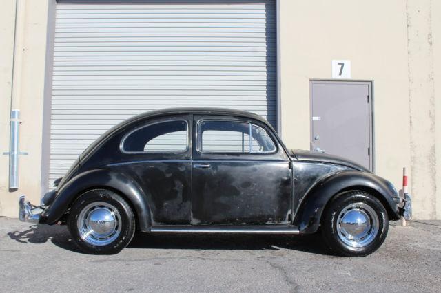 1957 classic oval window volkswagen bug rare yanase japan for 1957 oval window vw bug