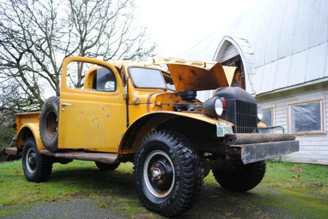Dodge Power Wagon For Sale >> 1957 Dodge Power Wagon W300, civilian model, PTO - Classic ...