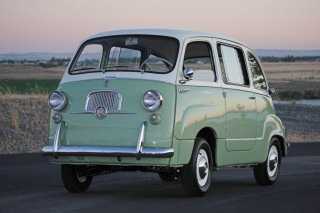 1957 Fiat 600 Multipla W Lucas Lights Classic Fiat 1957