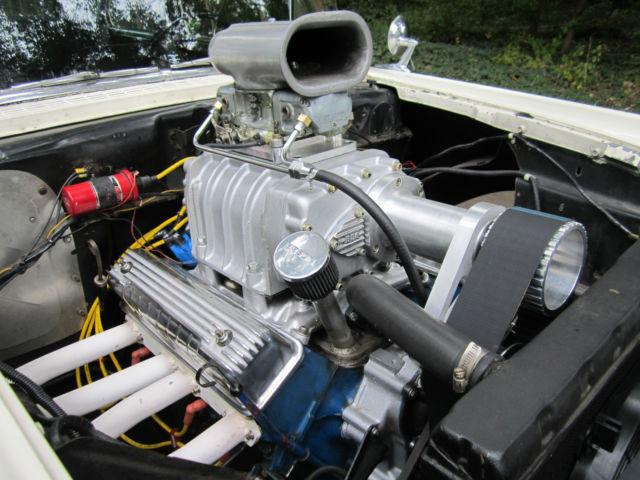 1957 ford custom 300 sedan gasser blown y block classic ford other 1957 for sale