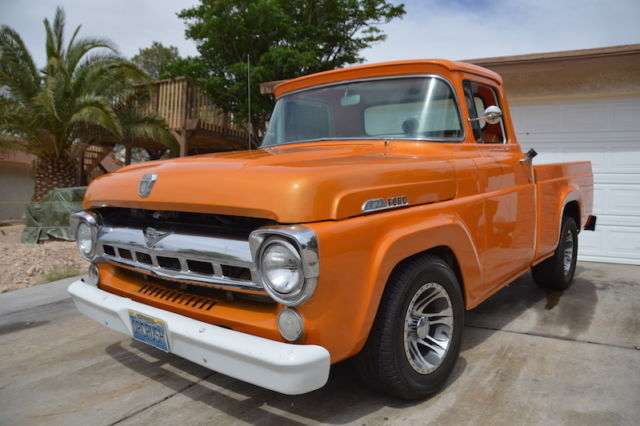 """1957 Ford F100 For Sale Craigslist >> 1957 Ford F100 Styleside short bed. 351w, C6 Trans, 9"""" Rear end, Tags: F150, 302 - Classic Ford ..."""