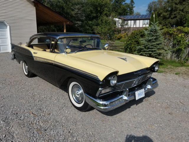 1957 ford fairlane 500 2 door hard top 292 y block auto for 1957 ford 2 door